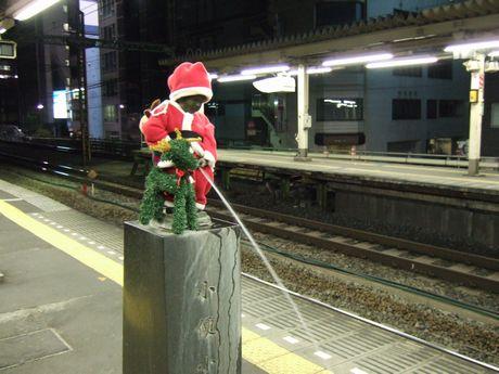 小便小僧クリスマス・バージョン